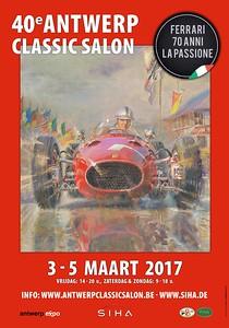 40e Antwerp Classic Salon Flyer.