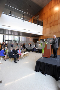 Rogers Building dedication