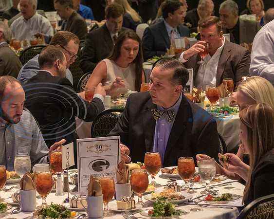 Attendees having lunch at the 30th Annual TEDC Investors and Contributors Appreciation Luncheon, Crosswalk Convention Center, Tyler, Tx. (Rick Flack/Freelance)