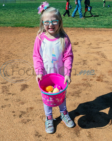 A young Easter Egg hunter show off her collection at the 4th Annual Community of Whitehouse Easter Egg Hunt, Saturday,  April  20th,  at the Whitehouse Sports Complex in Tyler, Tx. (Rick Flack/Freelance)