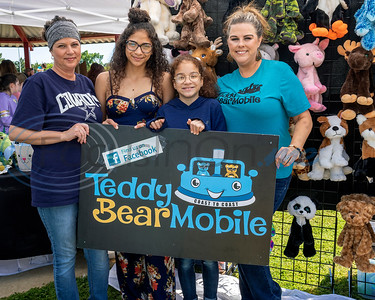 Teddy Bear Mobile, Lindale, Tx, at the 4th Annual Community of Whitehouse Easter Egg Hunt, Saturday,  April  20th,  at the Whitehouse Sports Complex in Tyler, Tx. (Rick Flack/Freelance)