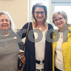 Mary Moore, Katie Latham and Sandie Propst are pictured at the 9th annual Call Her Blessed Luncheon hosted by Christian Homes and Family Services Tuesday April 25, 2016 at the Green Acres Baptist Church CrossWalk Conference Center.<br /> <br /> (Sarah A. Miller/Tyler Morning Telegraph)