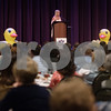Lisa Robertson of the television show Duck Dynasty speaks at the 9th annual Call Her Blessed Luncheon hosted by Christian Homes and Family Services Tuesday April 25, 2016 at the Green Acres Baptist Church CrossWalk Conference Center.<br /> <br /> (Sarah A. Miller/Tyler Morning Telegraph)