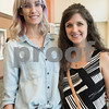 Jenni Moore and Sara Register are pictured at the 9th annual Call Her Blessed Luncheon hosted by Christian Homes and Family Services Tuesday April 25, 2016 at the Green Acres Baptist Church CrossWalk Conference Center.<br /> <br /> (Sarah A. Miller/Tyler Morning Telegraph)
