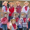 Kids sing during Kids' Kaleidoscope Preschool's annual Texas Day event at Pollard United Methodist Church in Tyler, Texas, on Thursday, April 26, 2018. (Chelsea Purgahn/Tyler Morning Telegraph)
