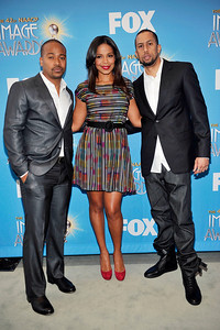 The 42nd NAACP IMAGE AWARDS NOMINATIONS was announced on January 12, 2011 at the Paley Center for Media in Beverly Hills California. Sanaa Lathan, and Columbus Short, and Affion Crockett Valerie Goodloe