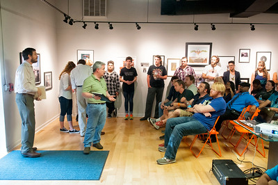 48 Hr Film Project - Genre Drawing @ The Light Factory 8-7-15