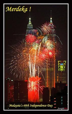 48th Merdeka Fireworks