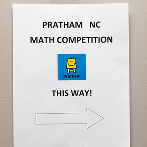 4th Annual Pratham RTP Math Competition Organized by Youth Volunteers