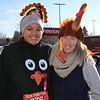Cold Turkey! Runners Amanda Swart and Mackenzie Bennett