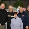 Hon. Joseph M. Sise, Hon. Guy P. Tomlinson, Lisa McCoy, Emergency Management Director and Sheriff Elect Jeff Smith and Hon. Felix J. Catena