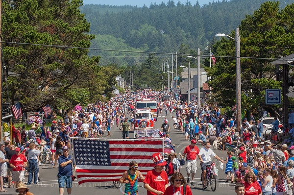 4th July Cannon Beach