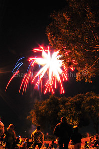 4th of July Fireworks, Happy Birthday America, Foster City, California