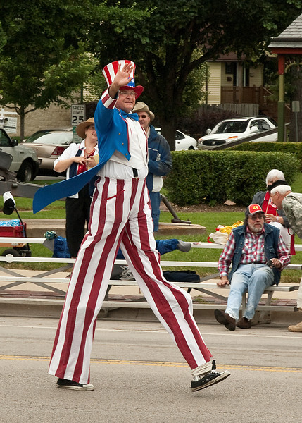 4th of July Parade, Brookfield, IL; 2009; 5x7