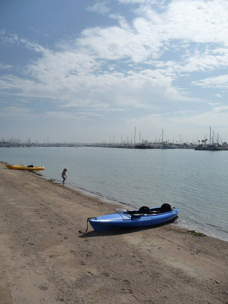 A perfect morning for kayaking.
