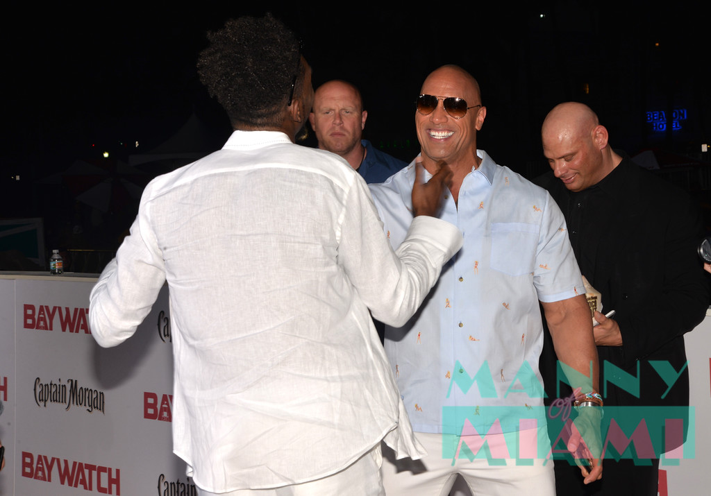 Desiigner, Dwayne Johnson