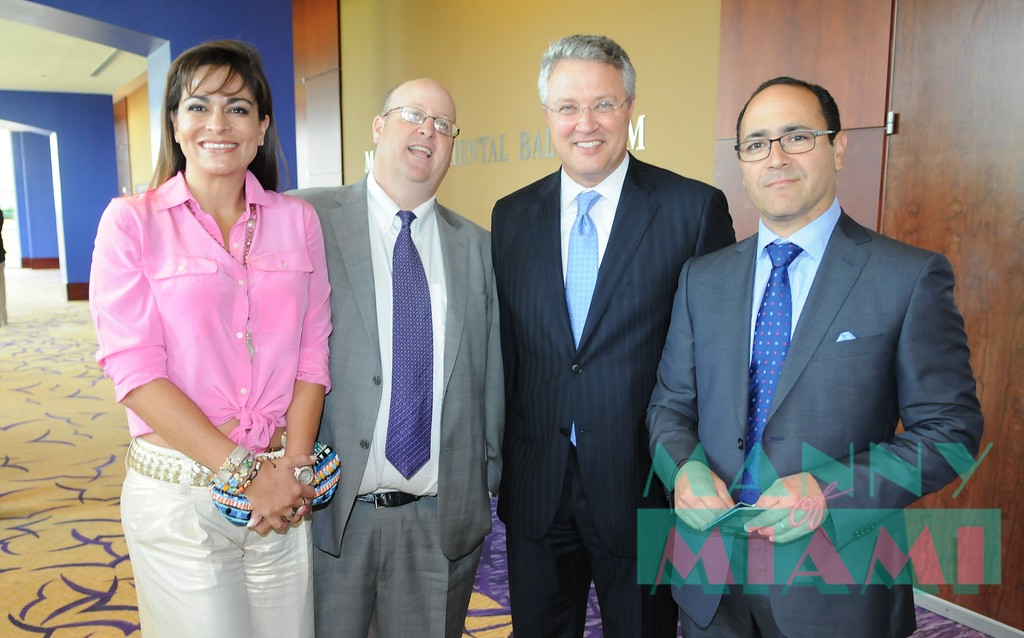 Chary and Robert korn, Peter Fernandez, Gabriel Montoya