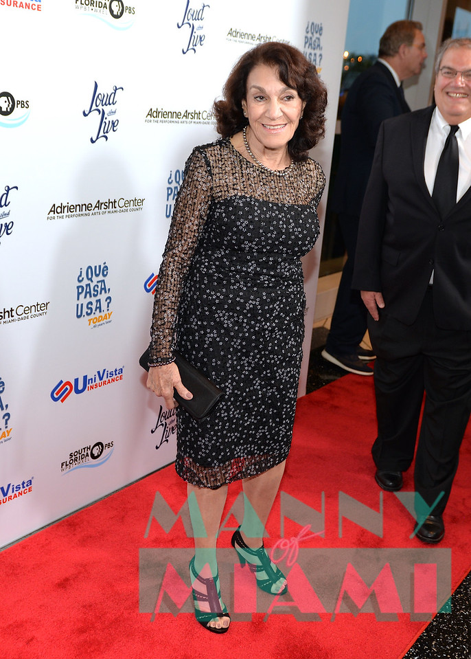 MIAMI, FL - MAY 17: Lillian Samson Agostini at opening night of the live stage production of '¿Que Pasa, USA? Today...40 Years Later' on May 17, 2018 in Miami, Florida. (Photo by Manny Hernandez)