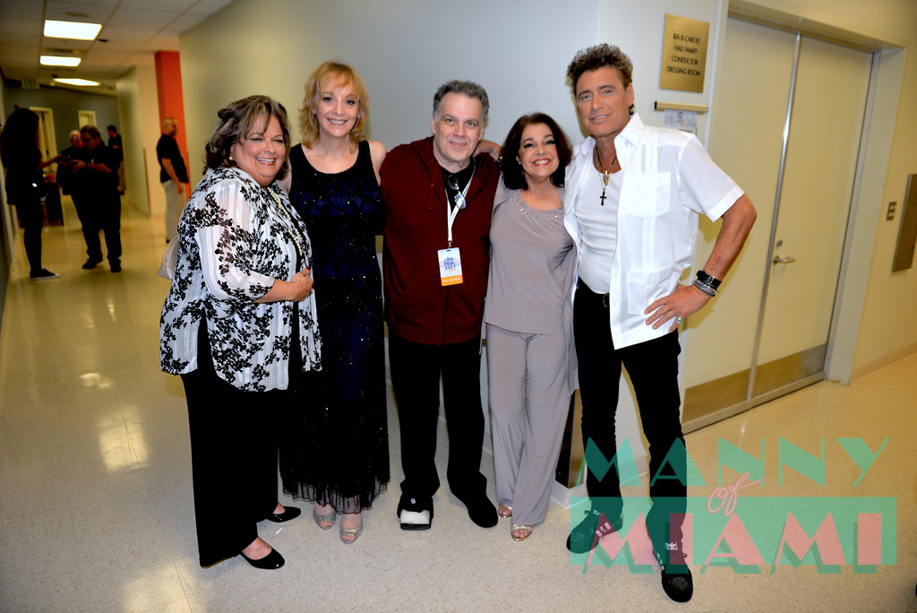 MIAMI, FL - MAY 17: Ana Margo, Barbara Ann Martin, Gonzalo Rodriguez, Connie Ramirez and Steven Bauer at opening night of the live stage production of '¿Que Pasa, USA? Today...40 Years Later' on May 17, 2018 in Miami, Florida. (Photo by Manny Hernandez)