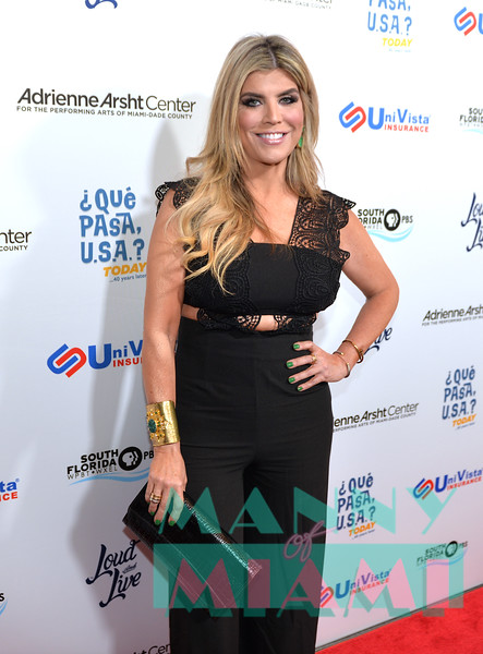 MIAMI, FL - MAY 17: Ana Quincoces at opening night of the live stage production of '¿Que Pasa, USA? Today...40 Years Later' on May 17, 2018 in Miami, Florida. (Photo by Manny Hernandez)