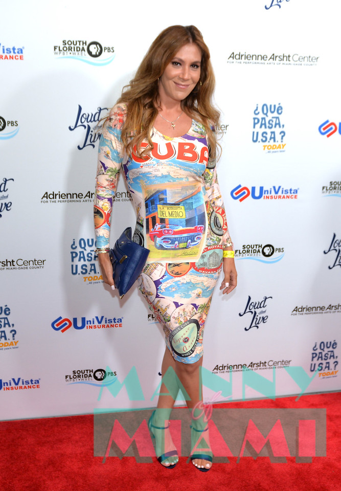 MIAMI, FL - MAY 17: Leticia Peña at opening night of the live stage production of '¿Que Pasa, USA? Today...40 Years Later' on May 17, 2018 in Miami, Florida. <br /> (Photo by Manny Hernandez)