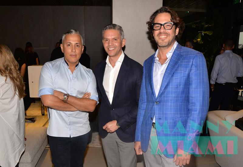 Juan Carlos Arcila Duque with Rodner Figueroa, Ernesto Matthies