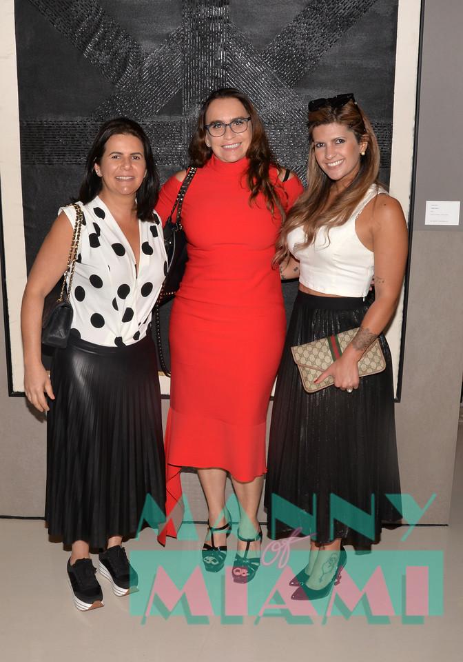 Cristina Souza, Daniela Carvalho, Taize Monteiro