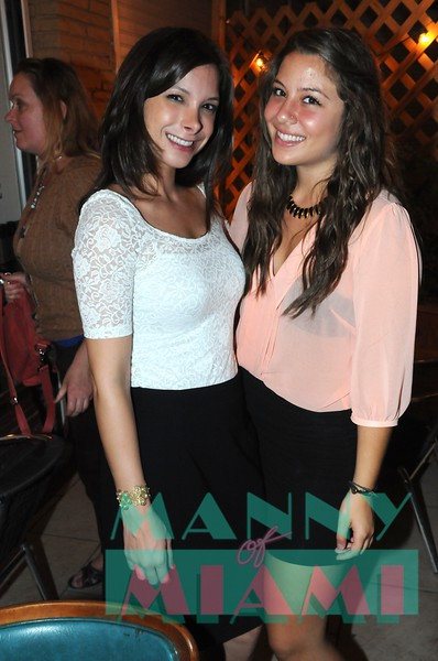 Luciana Salame and Ashley Abed