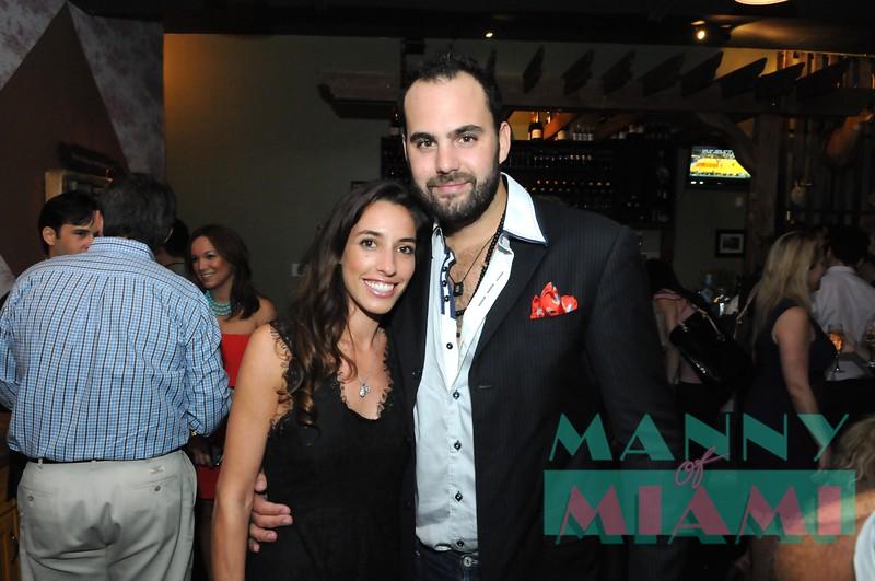 Lauren Gnazzo and Tito Gaudenzi