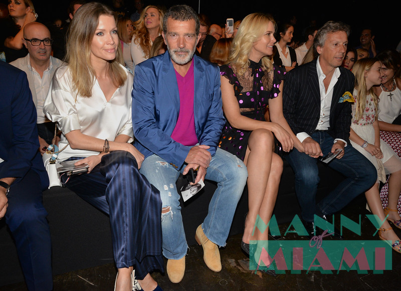 Nicole Kimpel, Antonio Banderas, Valeria Mazza
