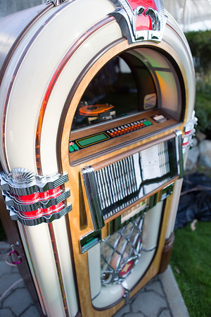 Every 50's party needs a JUKEBOX