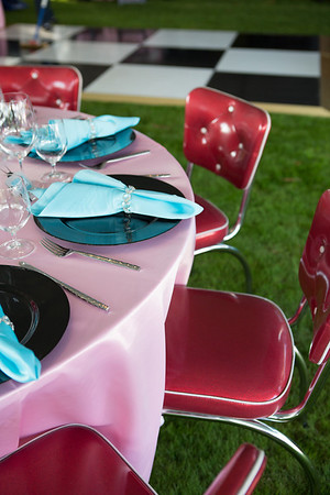Hot Pink Diner Chairs