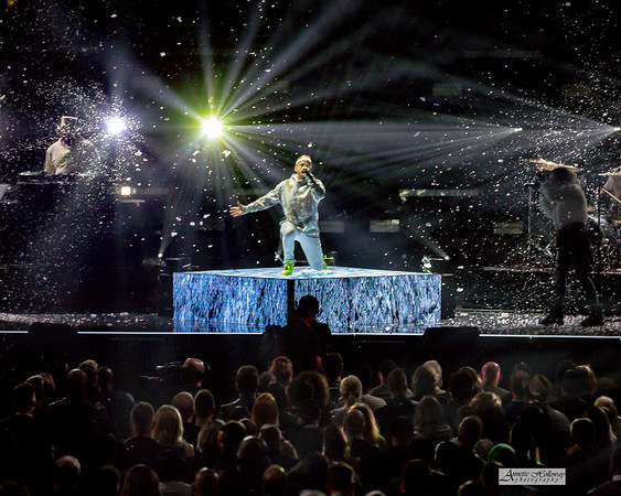 "TobyMac performing ""The Elements"" for the 50th Annual GMA Dove Awards at Allen Arena, Lipscomb University on October 15, 2019 in Nashville, Tennessee. (Photo by Annette Holloway)"