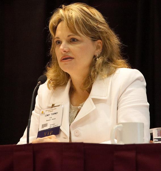 Cindy Tierney, CIO, Beazer Homes