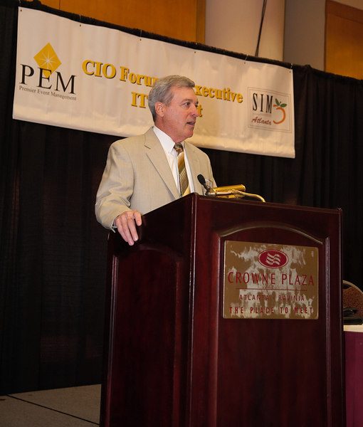 Tom Stuetzer, Conference Director and Past President, SIM Atlanta