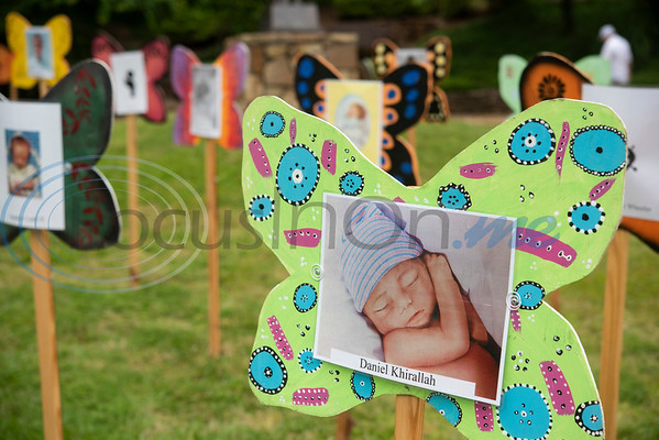 Daniel Khirallah, stillborn, is one of many children remembered at The Tyler Compassionate Friends butterfly release at The Children's Park in Tyler.  (Sarah A. Miller/Tyler Morning Telegraph)