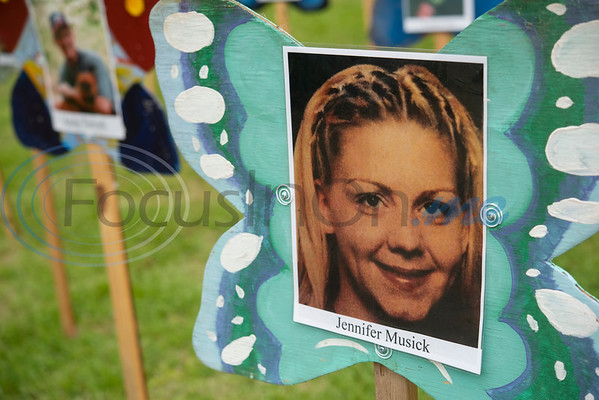 Jennifer Musick is one of many children remembered at The Tyler Compassionate Friends butterfly release at The Children's Park in Tyler.  (Sarah A. Miller/Tyler Morning Telegraph)