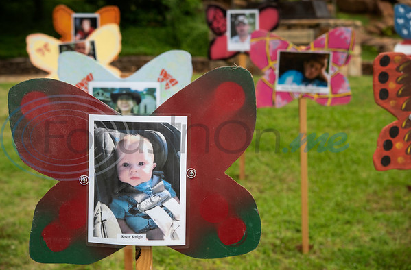 Knox Knight is one of many children remembered at The Tyler Compassionate Friends butterfly release at The Children's Park in Tyler.  (Sarah A. Miller/Tyler Morning Telegraph)