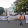 Head of the IEC grand procession at Fuente Osmena circle in Cebu City