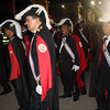 Knights of Columbus arrive at Plaza Independencia