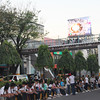 LED screen installed along Jones Avenue during IEC grand procession