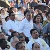 Cebu Governor Hilario Davide attends the IEC Capitol Mass