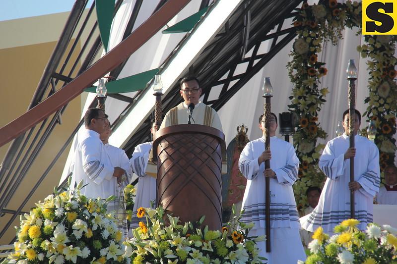 CEBU. 51st International Eucharistic Congress Statio Orbis held on January 31, 2016 at South Road Properties, Cebu City, Philippines. (Nicko Tubo Sunnex)