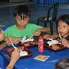 Children in Cebu dine during Table of Hope Banquet