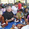 Archbishop of Winnipeg, Canada Richard Gagnon dines with Cebuanos during Table of Hope Banquet
