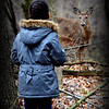 Week #13 - Close deer encounter in the woods