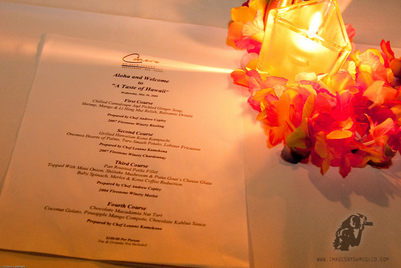 "<span class=""dropcap1"">O</span><div id=""ibdJournal"">nce a year <a href=""http://www.copleyspalmsprings.com"" target=""blank"">Copley's On Palm Canyon Restaurant</a> presents a special Hawaiian themed evening for their guests.  For a reasonable fee, they include a four course meal paired with selected wines."