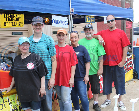 The crew from Ted Kamel Foods at the Whitehouse 'Freedom In The Park' day on Memorial Day, May 25, 2019, at the Whitehouse City Park, Whitehouse, Tx. (Rick Flack Photo)