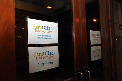 5:45 a.m. at the 2017 dsm Hack