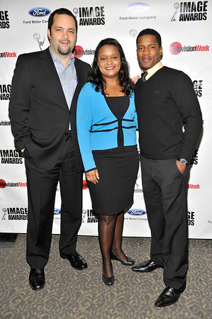 FORD MOTOR COMPANY SPONSORS 5TH ANNUAL NAACP IMAGE AWARDS HOLLYWOOD SYMPOSIUM HELD AT THE ACADEMY OF TELEVISION ARTS & SCIENCES AT THE GOLDENSON THEATRE IN NORTH HOLLYWOOD CALIFORNIA ON FEBRUARY 9, 2009 BEN JEALOUS, PAMELA ALEXANDER, AND NATE PARKER